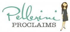 How I Started Blogging - Pellerini Proclaims...