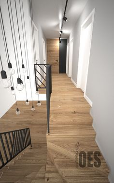 Interior Stair Railing, Stair Railing Design, Home Stairs Design, Stair Decor, Foyer Design, Dream Home Design, Home Interior Design, Stairs In Kitchen, Stairs In Living Room
