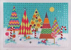 It's not your Grandmother's Needlepoint: Truly Scrumptious!