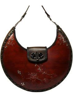 Leather Carved and Tooled Handbag. $550.00, via Etsy. - branded ladies purse, handbags australia, black handbags online *sponsored https://www.pinterest.com/purses_handbags/ https://www.pinterest.com/explore/purse/ https://www.pinterest.com/purses_handbags/cheap-handbags/ http://www.justfab.com/handbags.htm