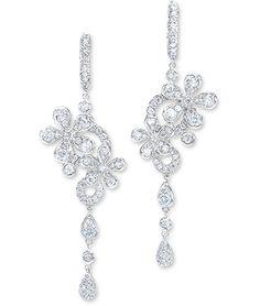 Flower Drop Earrings   Cellini Jewelers