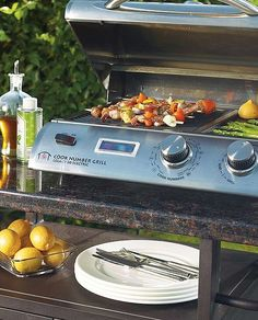 Entertain outdoors with ease with the flameless Cook Number Electric Grill; a compact grilling solution perfect for small spaces.