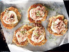 Tuna-aartappelkoekies