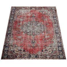 Flachgewebe-Teppich Novara in Rot World Menagerie Teppichgröße: 200X280