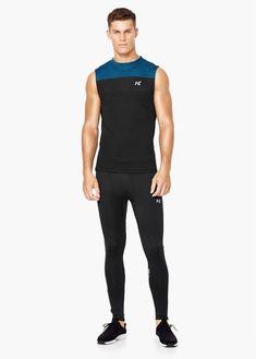 Camiseta running multi-way stretch | MANGO MAN