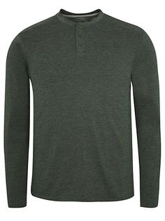 Grandad Collar Long Sleeve Top, read reviews and buy online at George. Shop from our latest range in Men. Add a new casual staple to your wardrobe with this ...