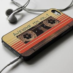 Guardians of The Galaxy Awesome Mix Vol. 1 Walkman - iPhone 4/4S, iPhone 5/5S/5C, iPhone 6 Case, Samsung Galaxy S4/S5 Cases - Shadeyou - Personalized iPhone and Samsung Cases