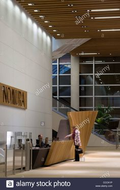 Office Entrance Lobby To Watermark Place, Occupied By Nomura Stock Photo, Royalty Free Image: 42074978 - Alamy