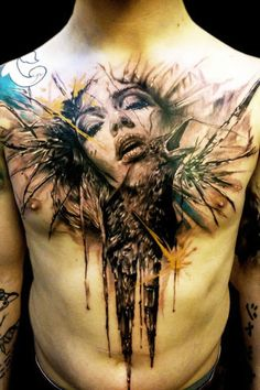 TATTOOS FROM SOUTH WEST ENGLANDAlthoughJak Connolly draws skulls and other things, one of his repeated themes is painting portraits of women.View More