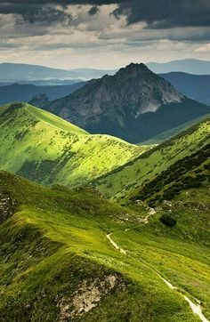 Picturesque Malá Fatra mountains is without a doubt one of the most beautiful unspoiled regions in central Europe. Explore the hiking trails that will lead you across the spectacular peaks. Photo by Jakub Polomski via 500 Places Around The World, The Places Youll Go, Places To See, Beautiful World, Beautiful Places, Heart Of Europe, Excursion, Bratislava, Central Europe