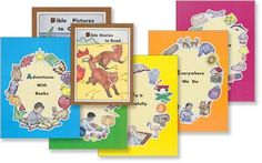 rod and staff books - These were the first set of schoolbooks for each of my children .