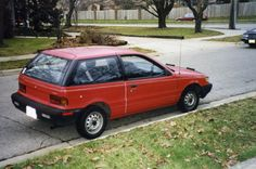 Plymouth Colt Hatchback... and yes, this probably still has the rinky-dink 4g15 engine.