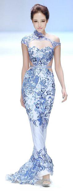 Zhang Jingjing Spring/Summer 2013 Couture