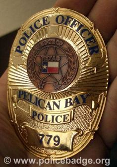Badge Pelican Police Department by dynamicentry122, via Flickr