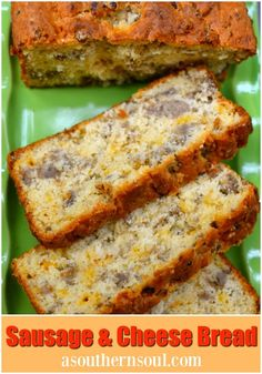 A Southern Soul Sausage & Cheese Bread 1 lb. pork sausage cup chopped onion cup Parmesan cheese cup grated cheddar cheese 1 egg teaspoon Texas Pete hot sauce 1 teaspoon salt Dash of red pepper Breakfast Dishes, Breakfast Time, Breakfast Recipes, Savory Breakfast, Breakfast Ideas, Breakfast On The Go, Health Breakfast, Brunch Ideas, Comida Filipina