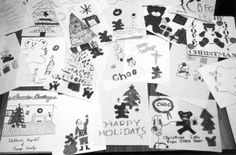 Holiday cards from CHOC patients.
