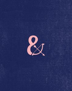 """I love the idea of the bow and arrow inside the ampersand -- resembling a broken infinity, ampersand reminds us that while not everything lasts forever, there is always an """"and"""""""