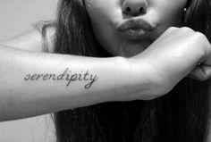 serendipity tattoo - Google Search
