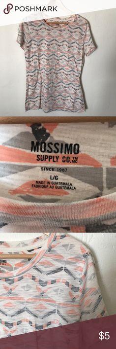 Aztec print tee Mossimo short sleeve Aztec print tee shirt Mossimo Supply Co Tops Tees - Short Sleeve