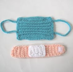 CROCHET N PLAY DESIGNS: Free Crochet Patterns: Doctor Mask and Bandage