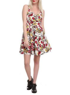 Western Crossed Guns Dress | Hot Topic