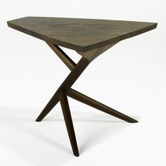George Nakashima, Conoid Three-Legged End Table, 1972.
