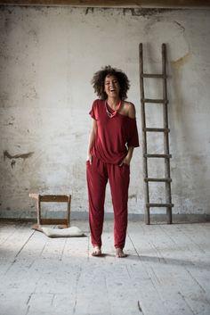 Kombinezon Rowanberry Jumpsuit   www.kokoworld.pl #handmade #jumpsuit  #fairtrade #kokoworld #africa