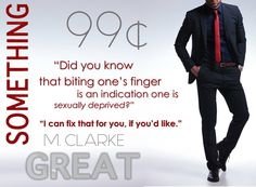 Something Great and Something Wonderful by M. Clarke/Mary Ting are both currently available for only 99 cents!
