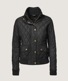 Troelstrup AW14. Barbour quiltet bomber jakke / Barbour quilted bomber jacket