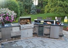 Expand Your Living Space Outside By Installing An Outdoor Kitchen Or Bar  Area For Entertaining Outdoors!