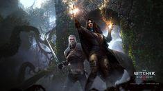 The Witcher 3 Wild Hunt Geralt and Yennefer by Scratcherpen on deviantART