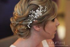 Check out lots of pictures of real brides... all hair by www.BeautyByNicole.com