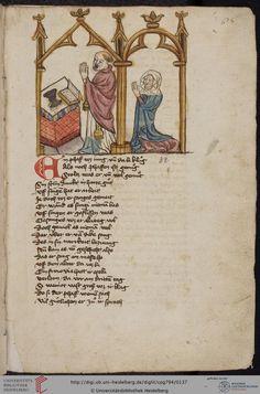 Cod. Pal. germ. 794: [Ulrich] Boner: Edelstein (Schwaben (Oberrhein?), um 1410/1420), Fol 65r
