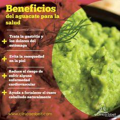 Sabemos que es delicioso, pero ¿Sabías lo que puede hacer por tu salud? #Consejo #Salud #Aguacate
