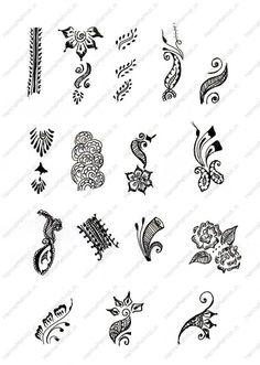 Flora Art Jewelry: Not a Zentangle