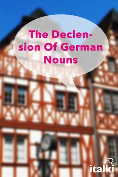 The Declension Of German Nouns - I don't want to say the German declination system is easy, but it is not as difficult as many people believe. #article #german