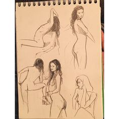 A great page of drawings to help you get in the swing of the new week! #ny #nyc #art #nycevent #brooklyn #bushwick #figure #figuredrawing #beer #brooklynbrewery #drink #draw #drinkndraw #artistcraftsman #bathaus