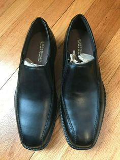 f23d79438a69 Bostonian Flexlite Loafer Slip-On Mens Black Leather Dress Shoes 26025895   fashion  clothing  shoes  accessories  mensshoes  dressshoes (ebay link)