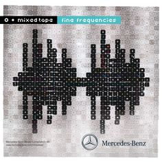 Mercedes-Benz Mixed Tape #49 Fine Frequencies. Cover Art by KDP.