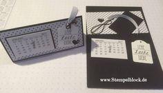 Tischkalender Stampin up