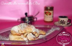 Croissant with marmalade! #food #bio #marmalade #glass