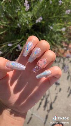 Soft Gel Nails, Cute Gel Nails, Light Pink Nails, Edgy Nails, Nude Nails, Acrylic Nail Designs Coffin, Acrylic Nail Set, Gel Nail Set, Light Pink Nail Designs