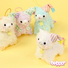 Alpacasso Mini Charm with Nightcap - Keychains & Charms - Lifestyle - Other Products | Blippo.com - Japan & Kawaii Shop