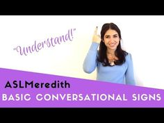 Learn American Sign Language: Beginner Conversational Words And Phrases In AslLearn how to sign in a beginner / basic conversation. Signs shown include (in order): H Learn Sign Language Free, Simple Sign Language, Sign Language For Kids, Sign Language Phrases, Sign Language Interpreter, British Sign Language, Foreign Language, Learn Asl Online, Asl Words