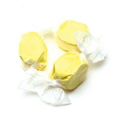 Two banana taffy pieces for @GoatGirl419 I gave you a free one! :) That will be 1 bit!