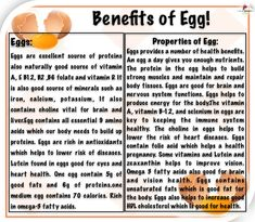 Egg Benefits, Health Benefits, Protein Sources, Vitamin D, Remedies, Eggs, Nutrition, Diet, Education