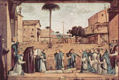 1509 Burial of St. Jerome - Vittore Carpaccio