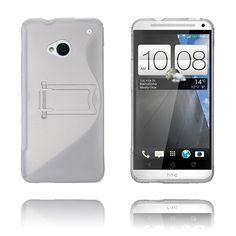 S-Line Stand (Hvit) HTC One Etui