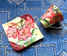 Decoupage Serving Trays, Decoupage, Tableware, Dinnerware, Tablewares, Dishes, Place Settings