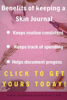 Learn to take daily notes of your skin journey. Write the bullets for each day routine and night routine. Document your skin issues on many different templates. Keep track of what beauty products you are buying and how much money you are spending on skincare. Learn to budget your beauty expenses. Get weekly, daily , and yearly skin affirmations and quotes to help boost your skin confidence. Practice good habits to better skin #naturalbeauty #writing #downloads #planner #skincondition… Beauty Journal, Copywriter, Night Routine, Skin Care Treatments, Bullets, Body Care, Helpful Hints, Beauty Products, Black Women